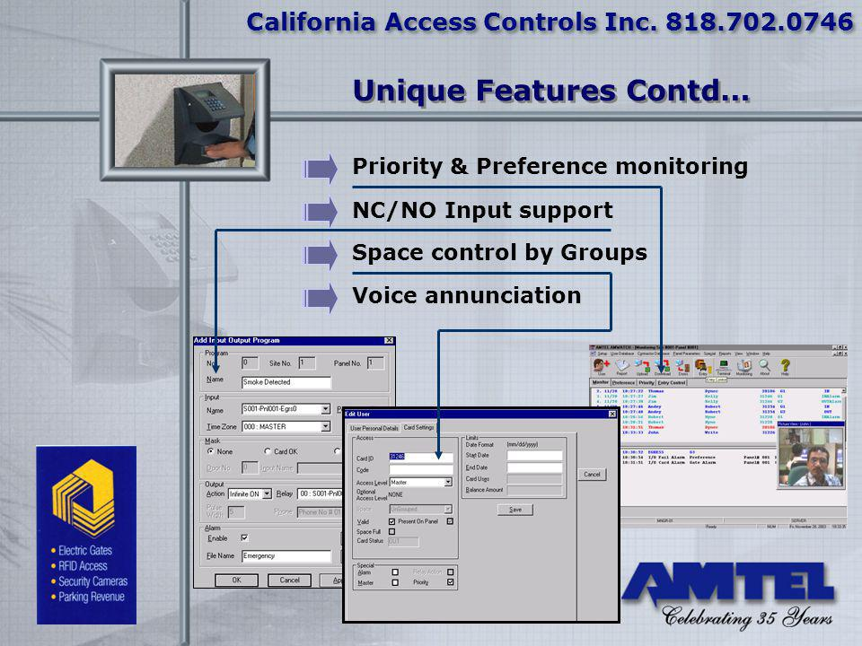 California Access Controls Inc.