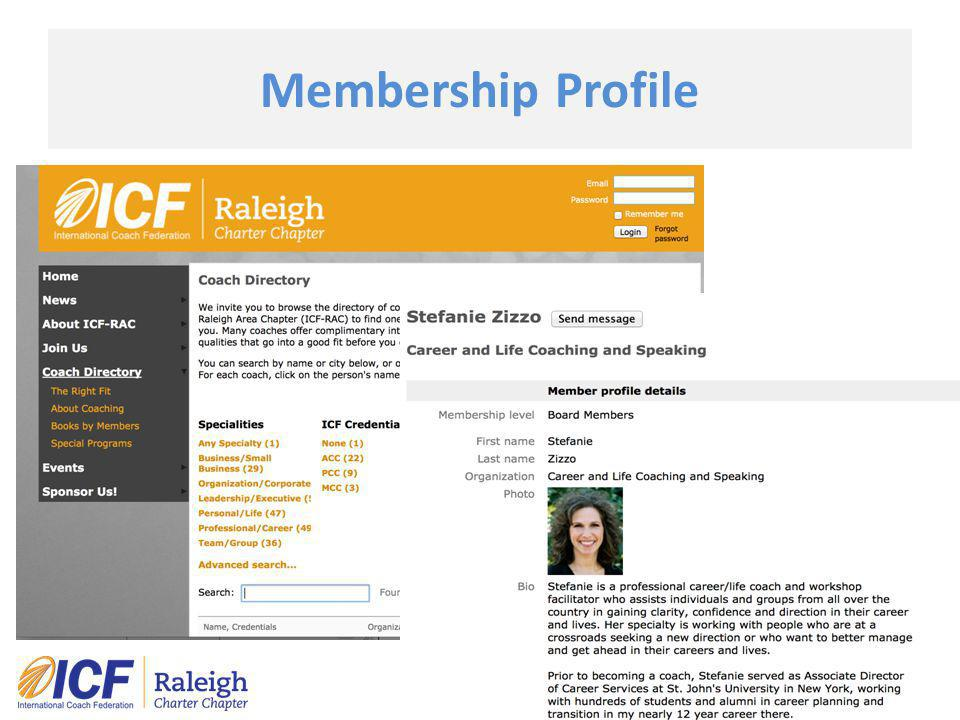 Membership Profile