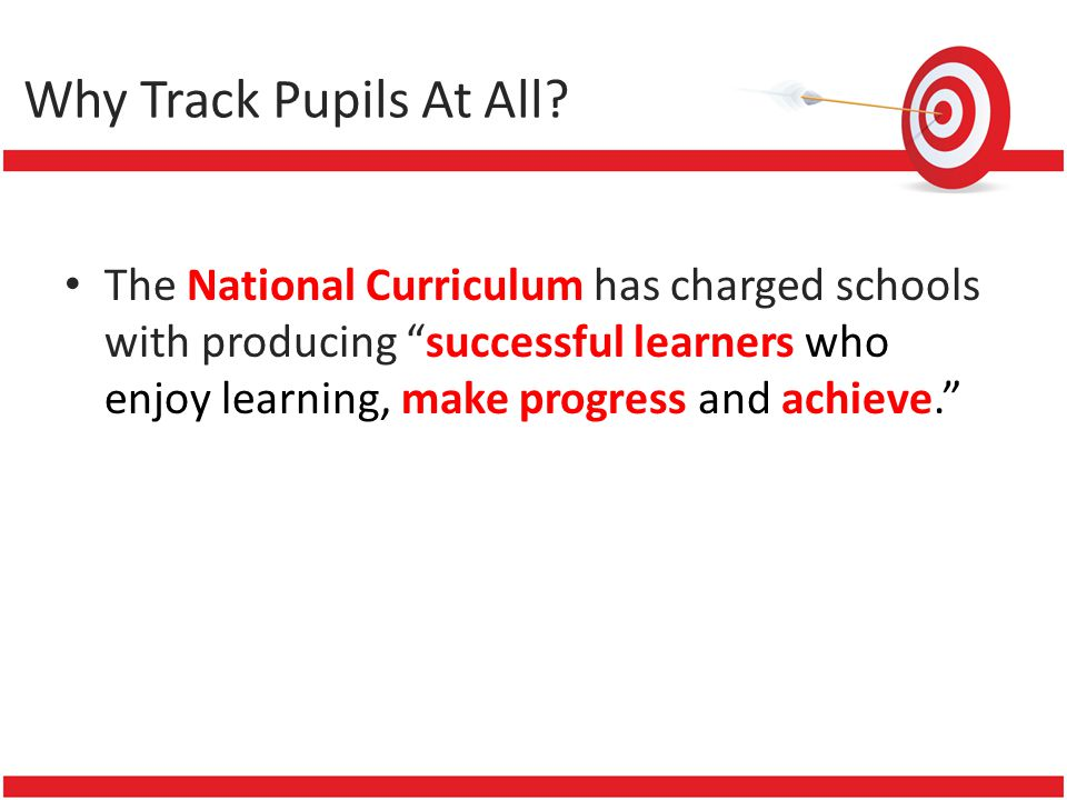 The National Curriculum has charged schools with producing successful learners who enjoy learning, make progress and achieve.