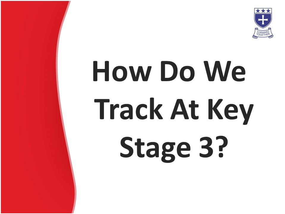 How Do We Track At Key Stage 3?