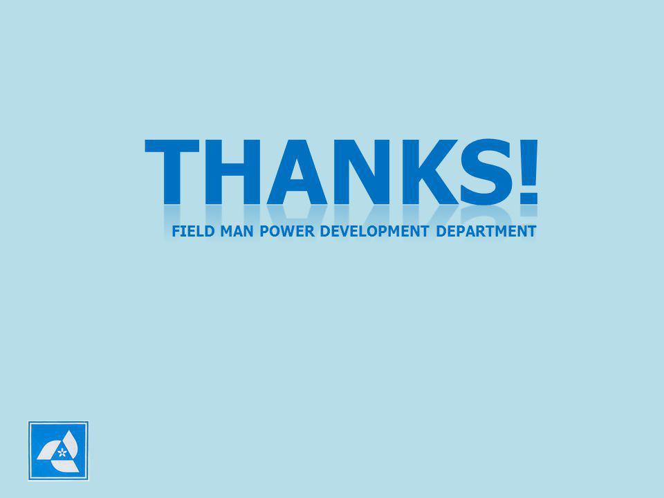 FIELD MAN POWER DEVELOPMENT DEPARTMENT