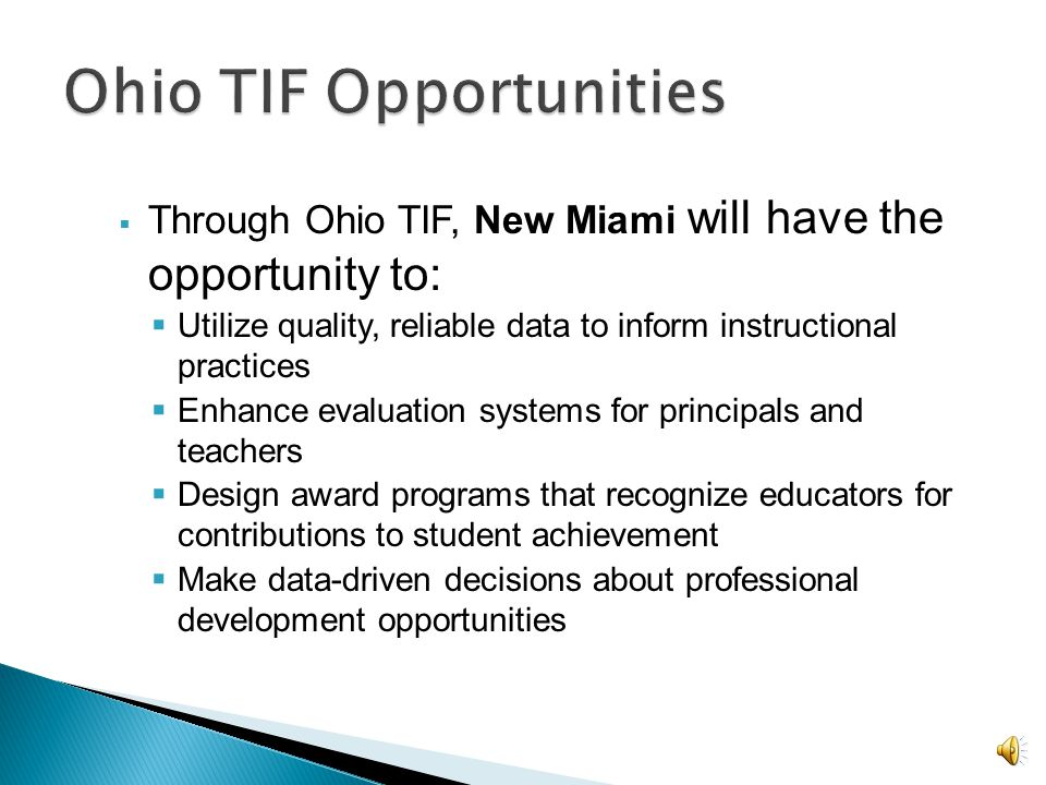 Support for those willing to carry out additional roles and responsibilities related to school achievement and student growth.