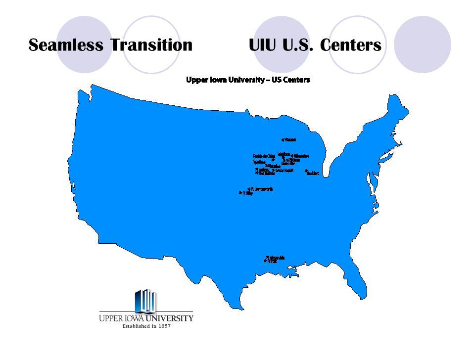 Seamless Transition UIU U.S. Centers