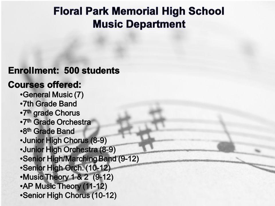 Floral Park Memorial Music Department