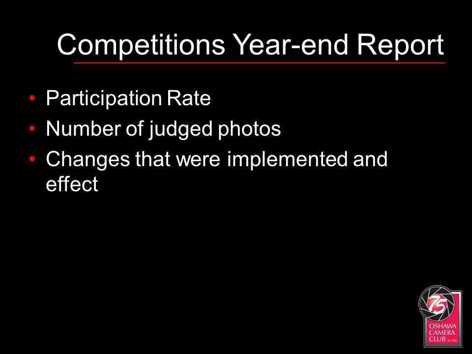 Oshawa Camera Club Vice President s Report