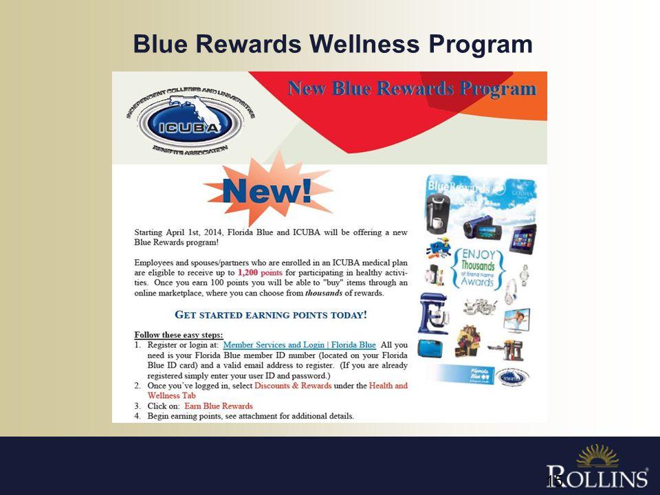 Blue Rewards Wellness Program 15