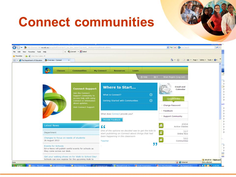 13 Connect communities