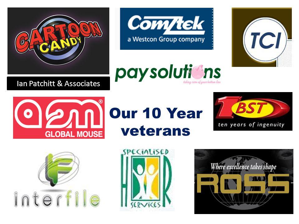 Ian Patchitt & Associates Our 10 Year veterans