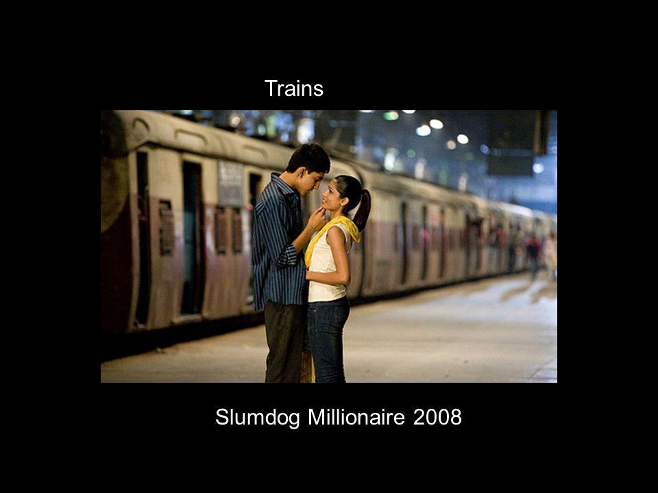 Slumdog Millionaire 2008 Trains