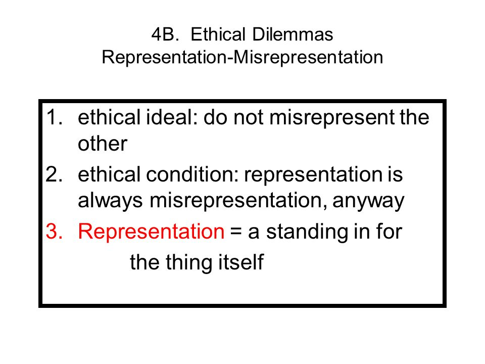 ethical dilemma 1 According to the university of southern california levan institute, ethical dilemmas are situations that challenge one's ability to choose the most ethical course of action.