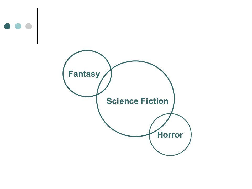 Fantasy Horror Science Fiction