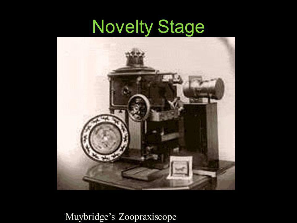 Novelty Stage Muybridges Zoopraxiscope