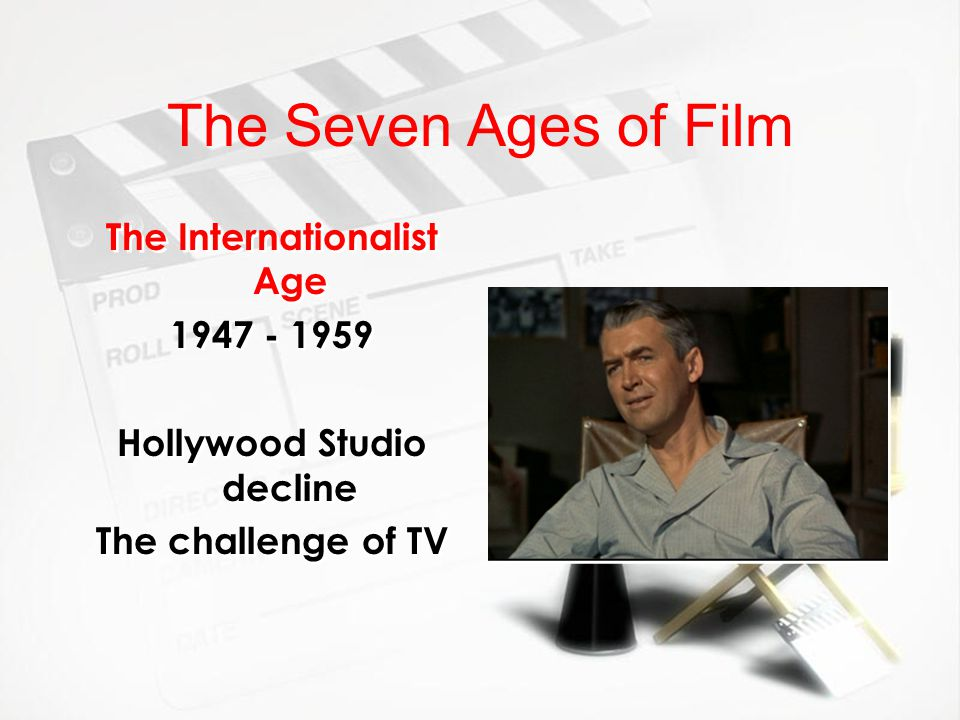 The Seven Ages of Film The New Wave Age 1960 - 1980 From France to the world Technological innovation Small scale productions Strong social / political value to film.