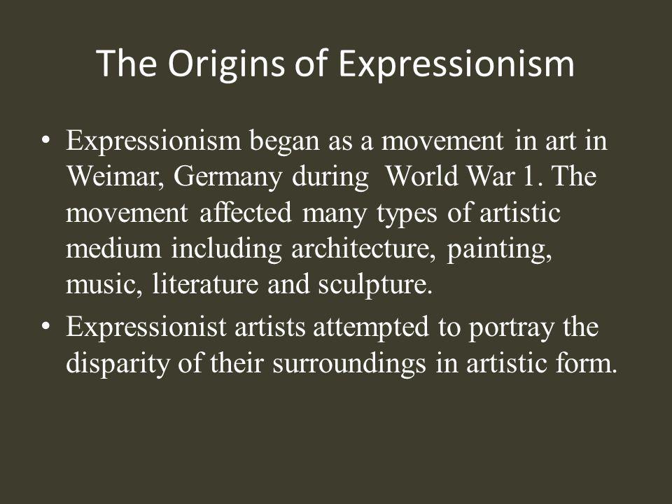 Works Cited 1918, By. GreenCine | German Expressionism. Gcsplash.gif.