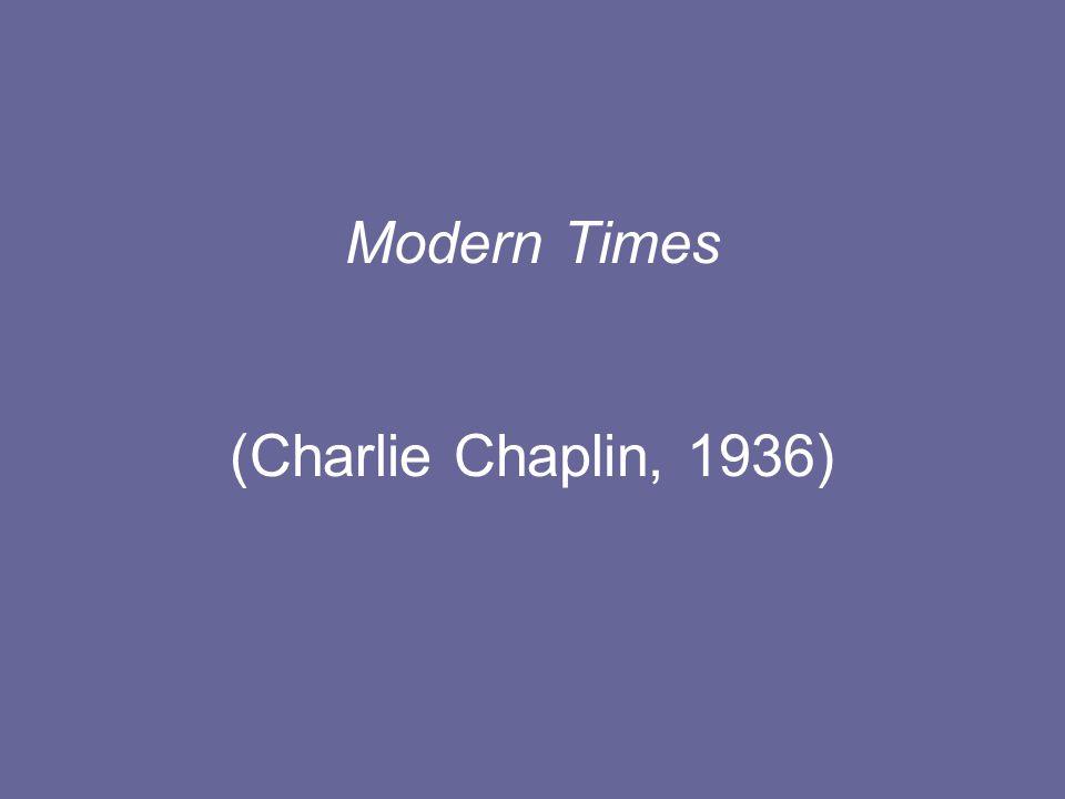 Modern Times (Charlie Chaplin, 1936)