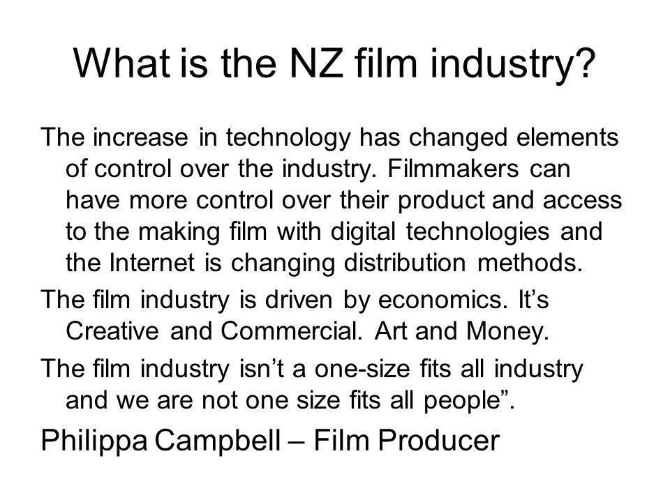 What is the NZ film industry.