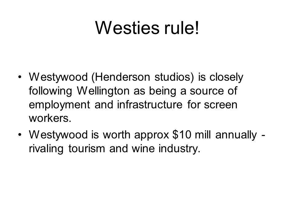 Westies rule.