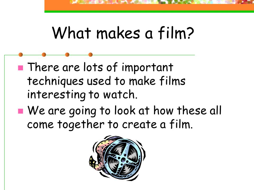Summary of film We need to be aware of these techniques, and ask ourselves: What is the EFFECT.