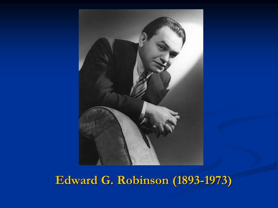 Edward G. Robinson (1893-1973)