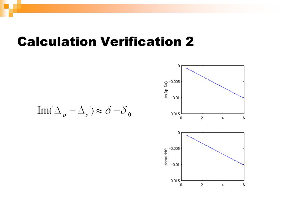 Calculation Verification 2