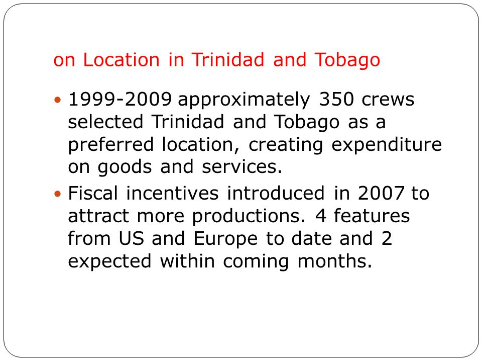 on-location in T&T, 2006-2009 a perfect location UK Chef Gary Rhodes – Caribbean Cuisine Contract Killers Hit for Six