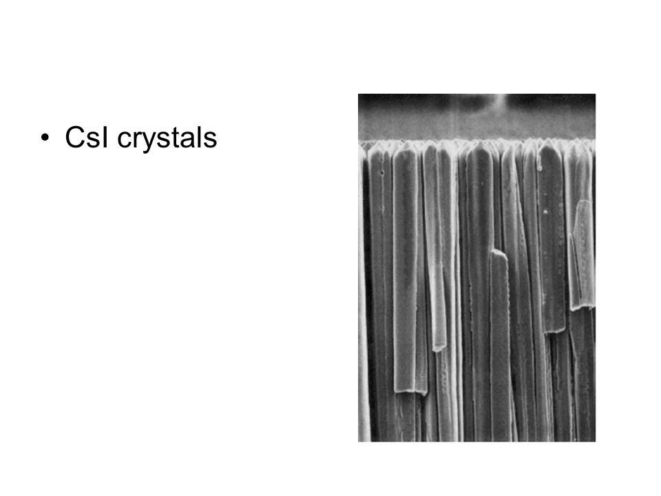 CsI crystals