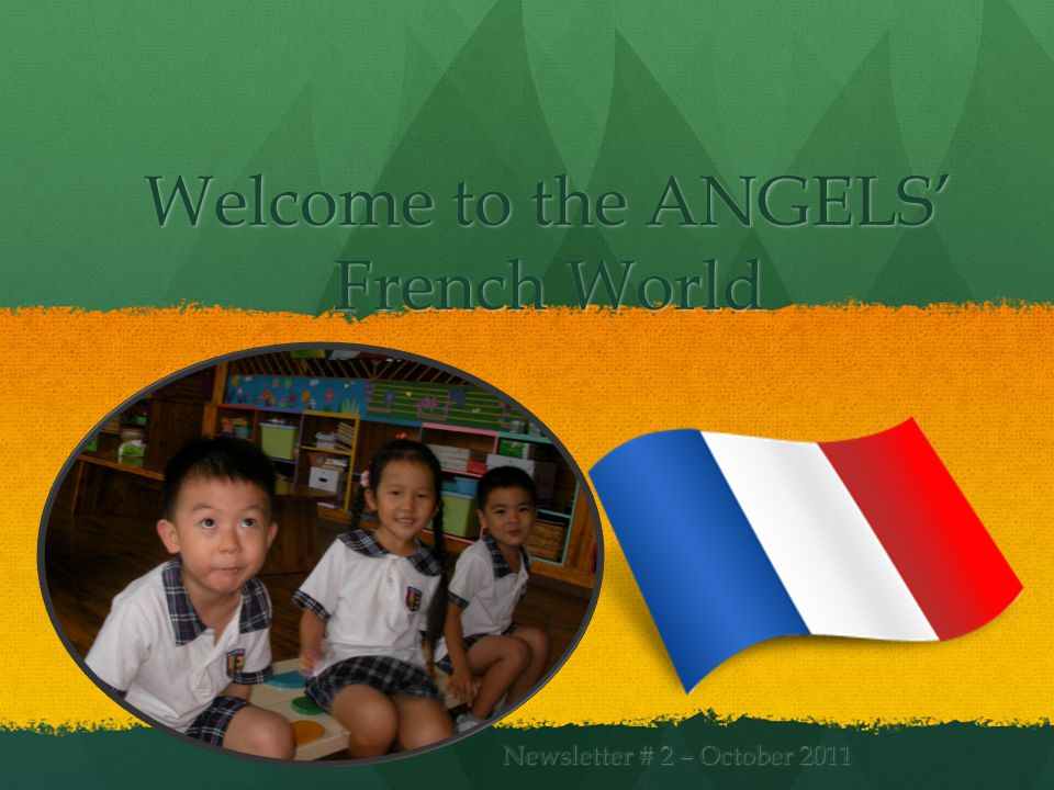 Welcome to the ANGELS French World Newsletter # 2 – October 2011