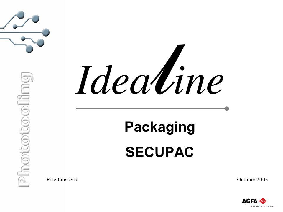 Packaging SECUPAC Eric Janssens October 2005
