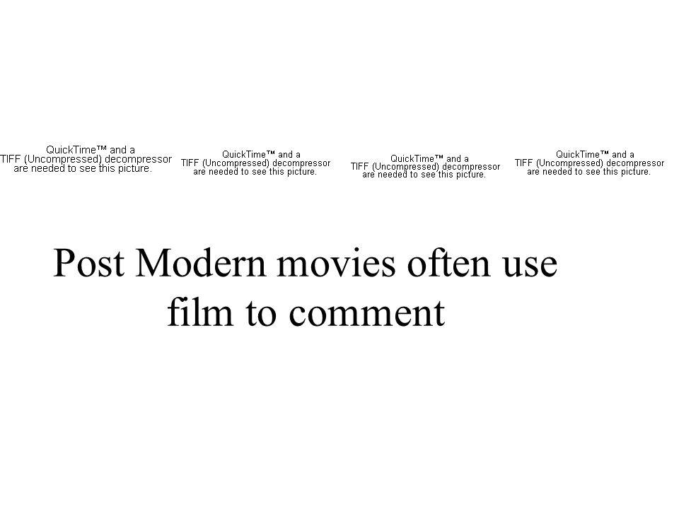 Post modern films