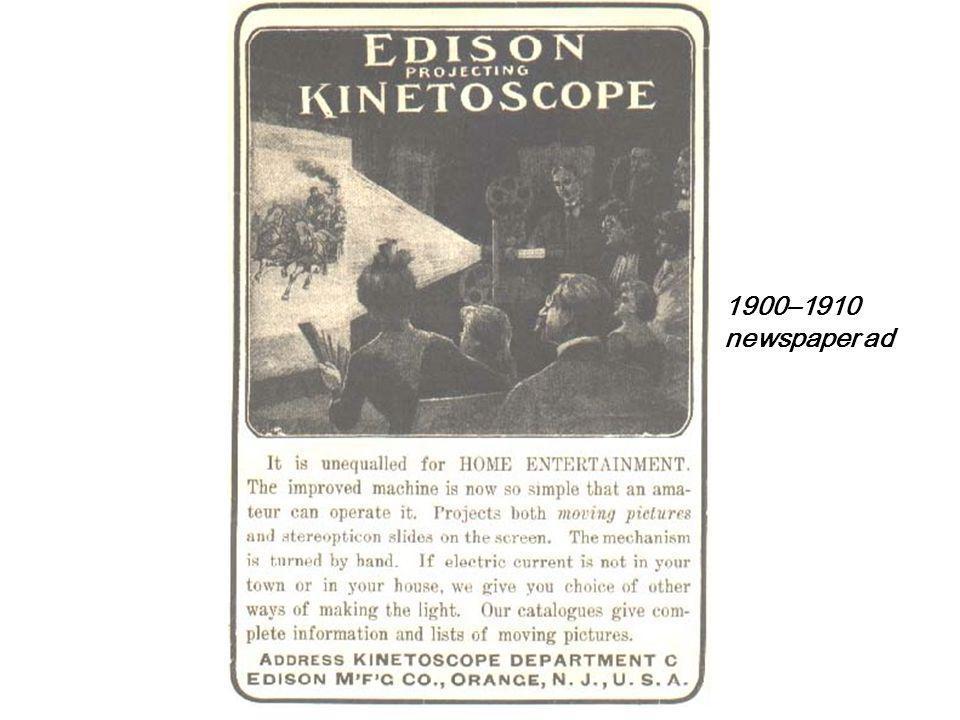 A San Francisco Kinetoscope parlour, ca. 1894–95.