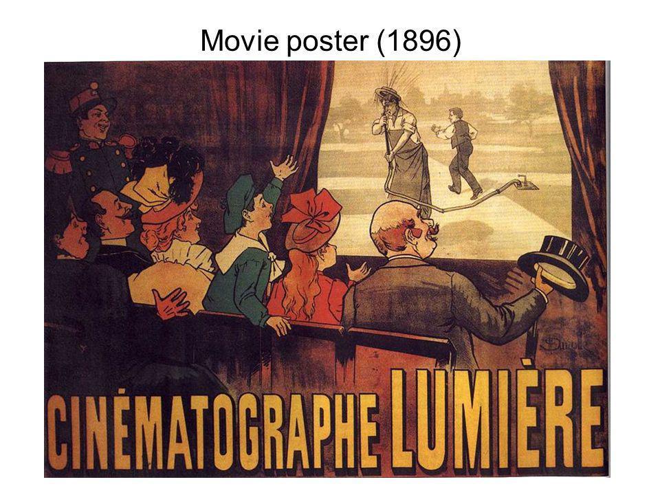 The cinématographe Lumière in filming mode.