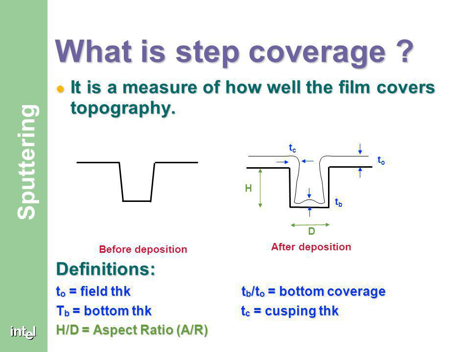 ® Step Coverage