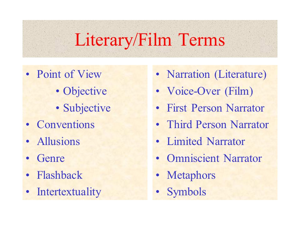 Films Directors Screenwriters Alexander Nevsky Henry V Joan the Maid: The Prisons Passion of Joan of Arc Casablanca A Rose for Emily Hills Like White Elephants Rear Window Slaughterhouse Five Composers Film Scores/Music