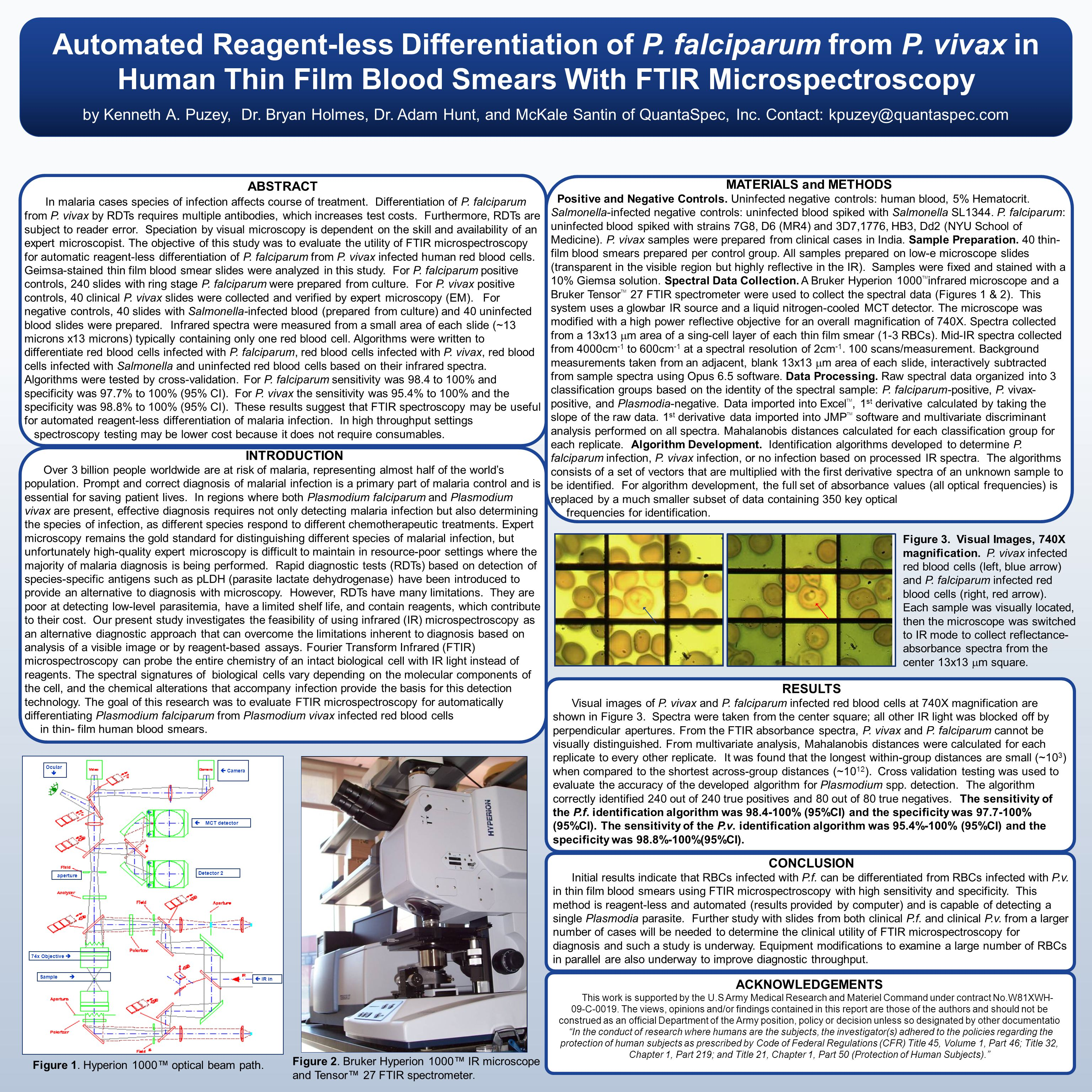 Automated Reagent-less Differentiation of Three Drug Susceptible Strains of P.