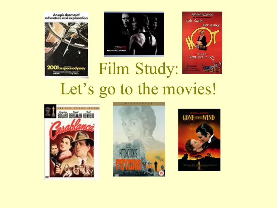 IS FILM STUDY THE RIGHT COURSE FOR ME.Do you love going to the movies.