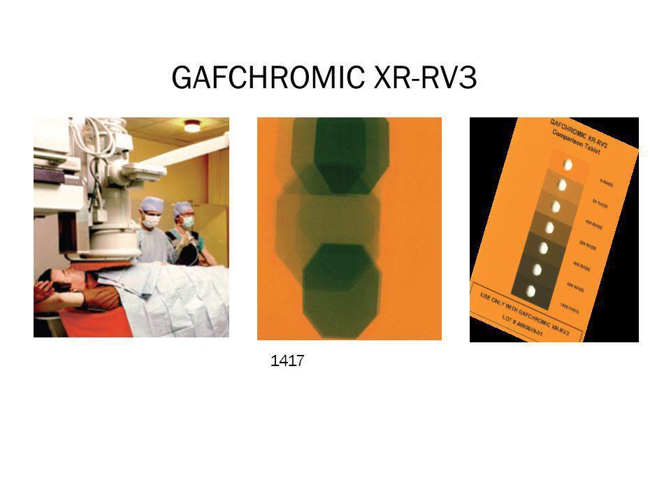 GAFCHROMIC XR-RV3 1 1417