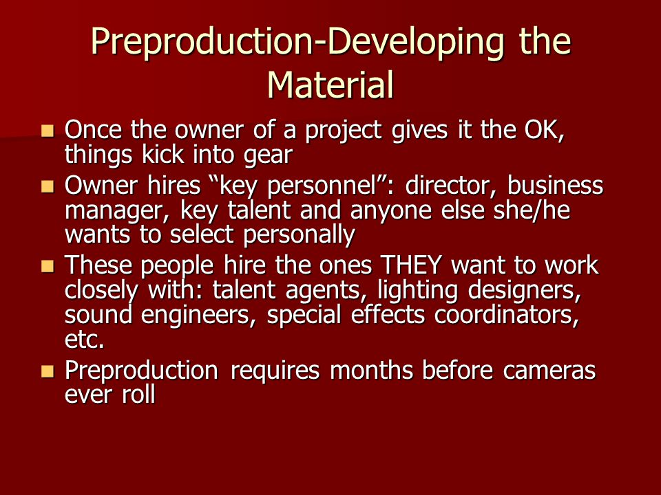 Film Project You are to prepare a 5 minute presentation analyzing ANY film of your choice You are to have at least 2 props to be presented to the class as a whole.