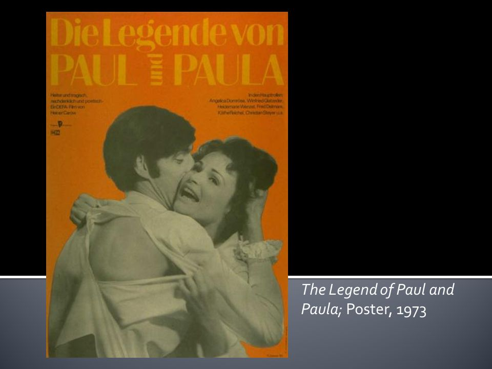 The Legend of Paul and Paula; Poster, 1973