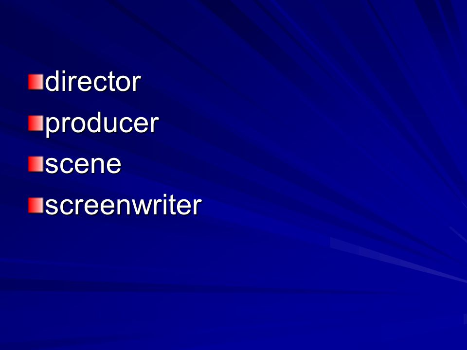 directorproducerscenescreenwriter
