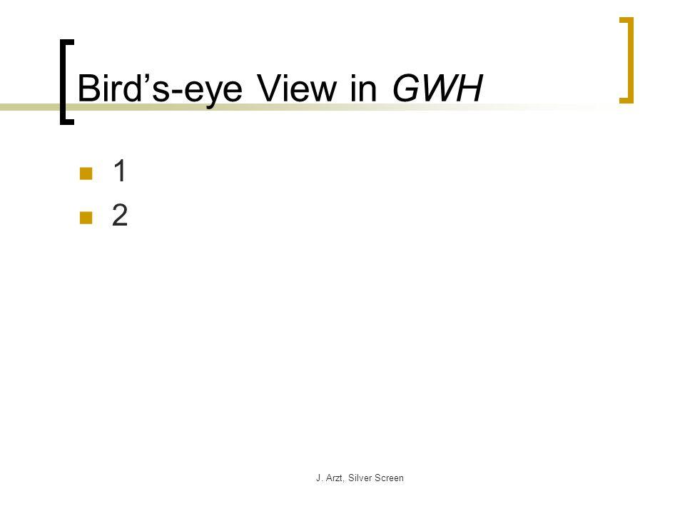J. Arzt, Silver Screen Birds-eye View in GWH 1 2