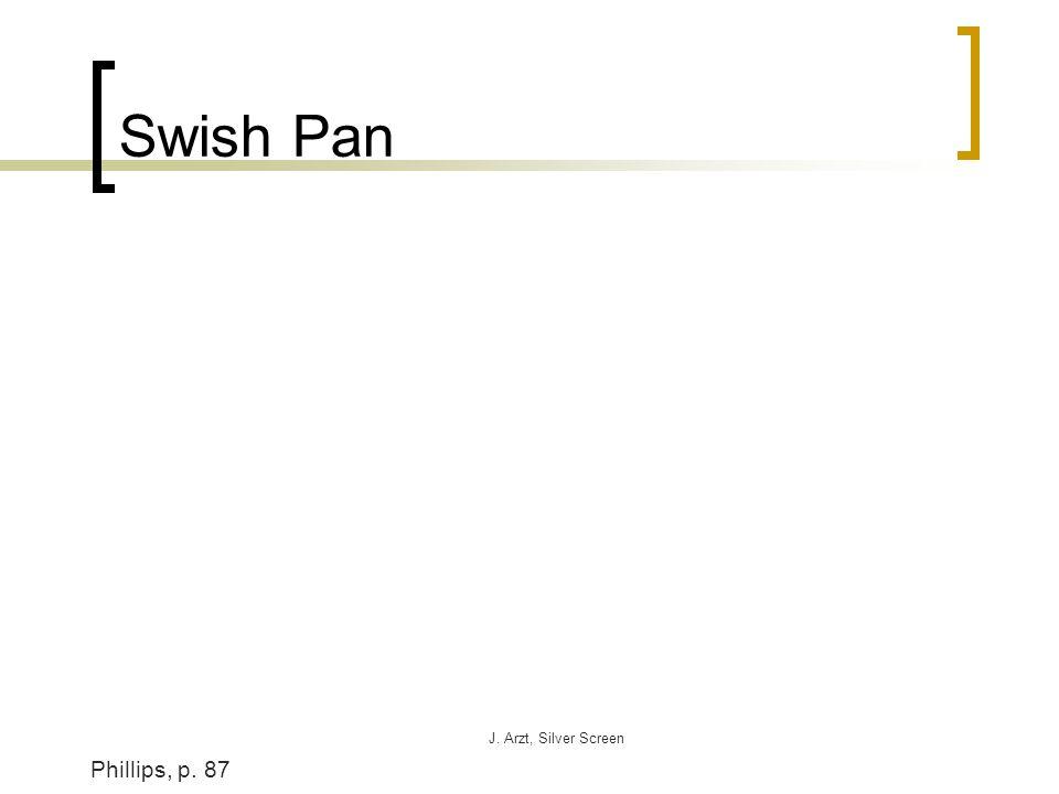 J. Arzt, Silver Screen Swish Pan Phillips, p. 87