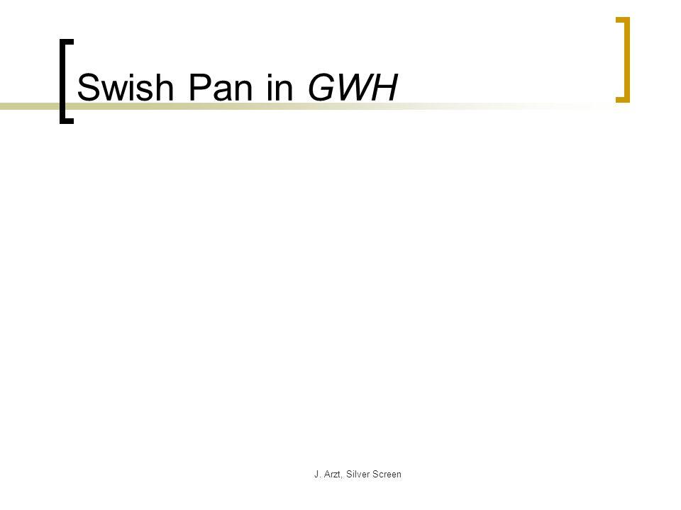 J. Arzt, Silver Screen Swish Pan in GWH