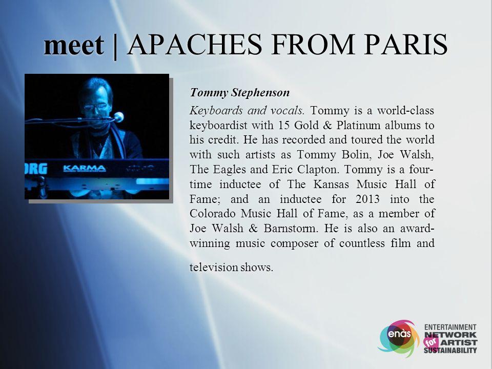 meet | APACHES FROM PARIS Rhonda Smith Bassist, singer/songwriter.