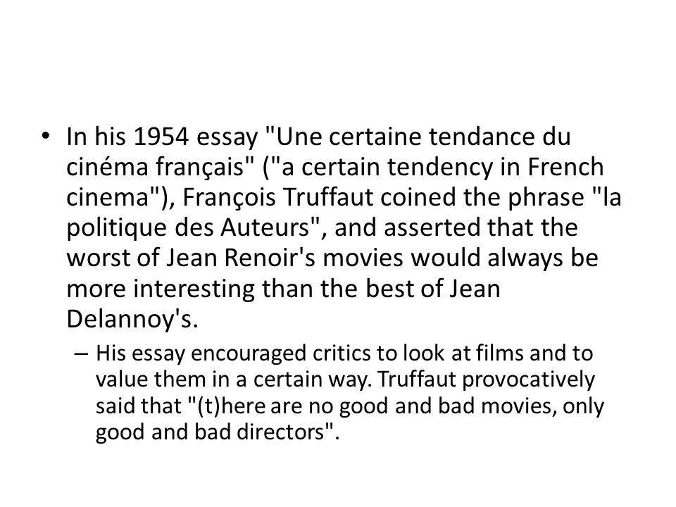 In his 1954 essay