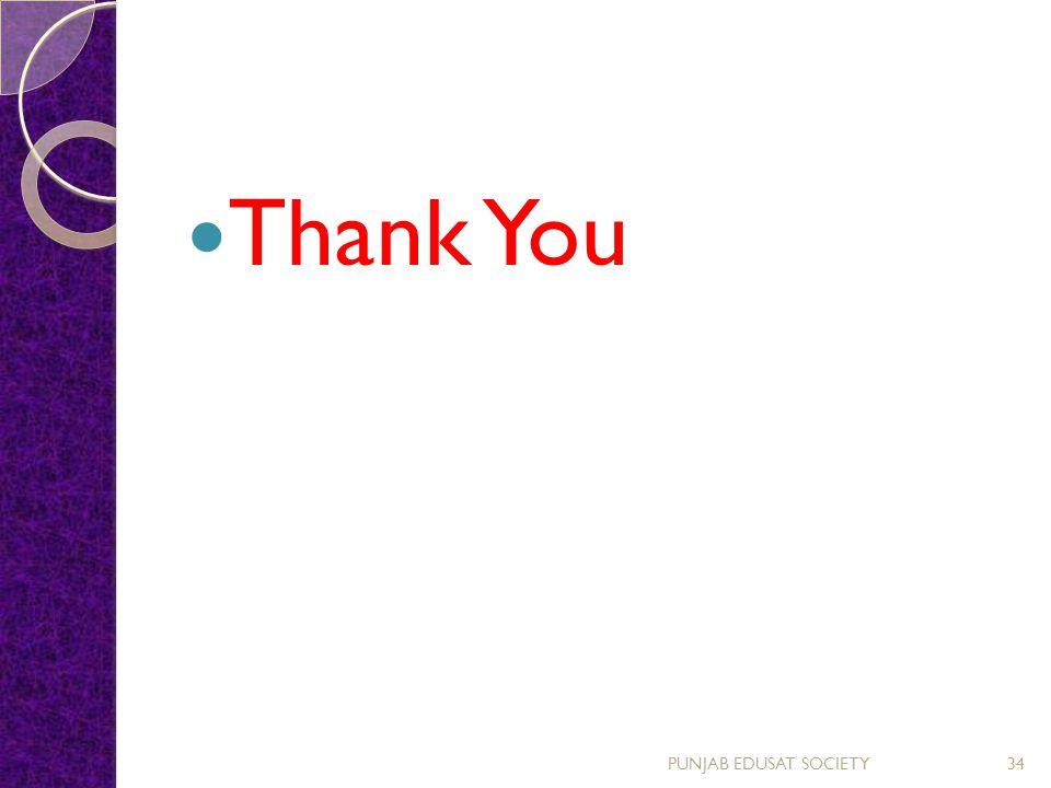 Thank You PUNJAB EDUSAT SOCIETY34