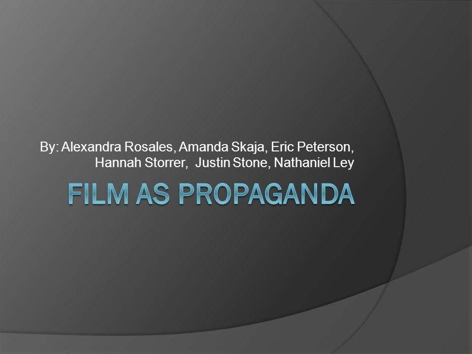 By: Alexandra Rosales, Amanda Skaja, Eric Peterson, Hannah Storrer, Justin Stone, Nathaniel Ley