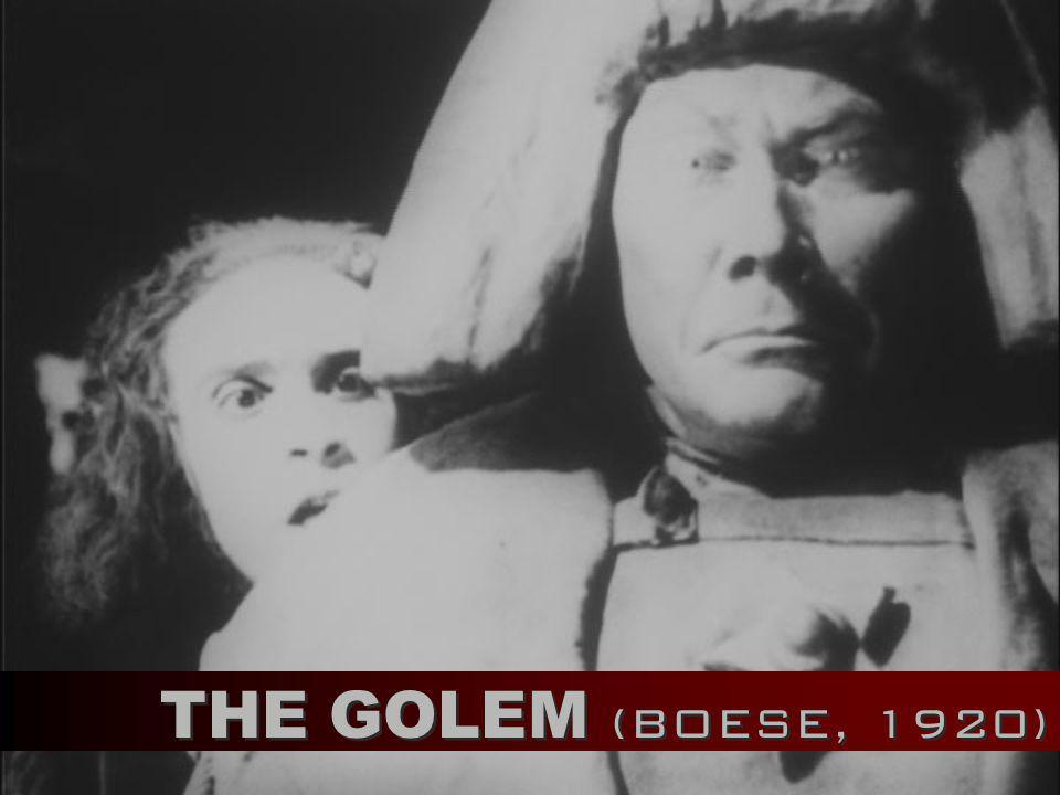 THE GOLEM (BOESE, 1920)