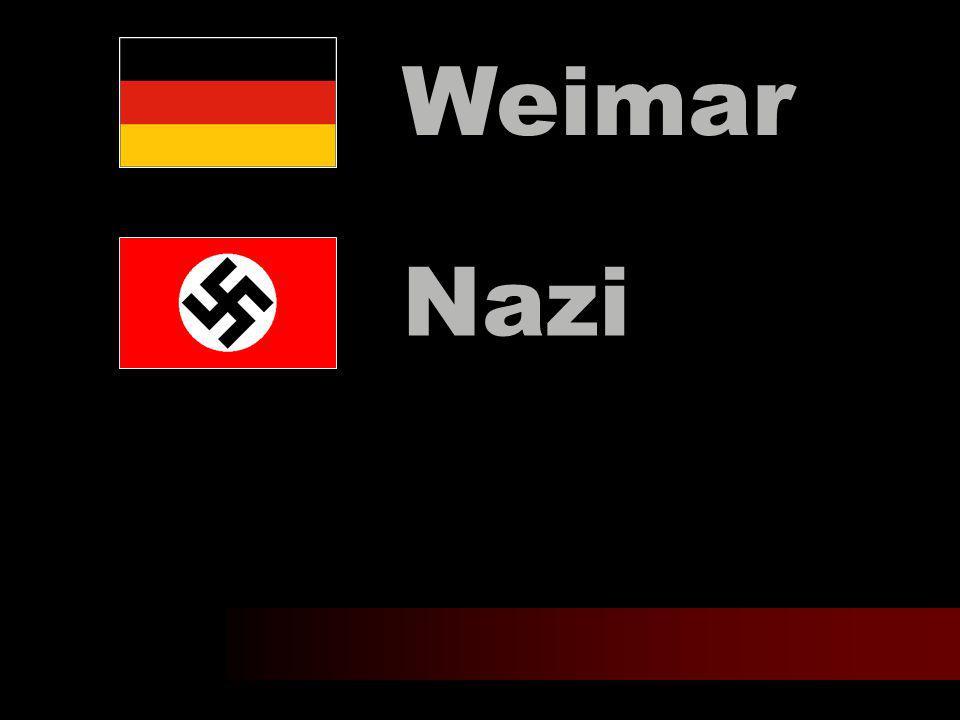 Nazi Weimar
