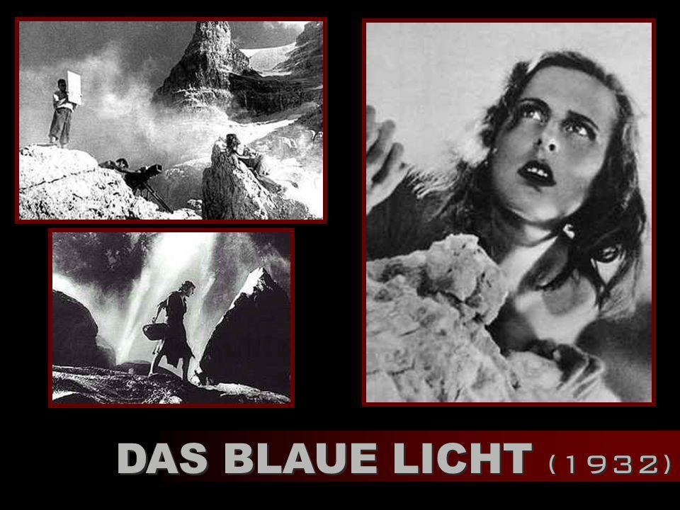 DAS BLAUE LICHT (1932)