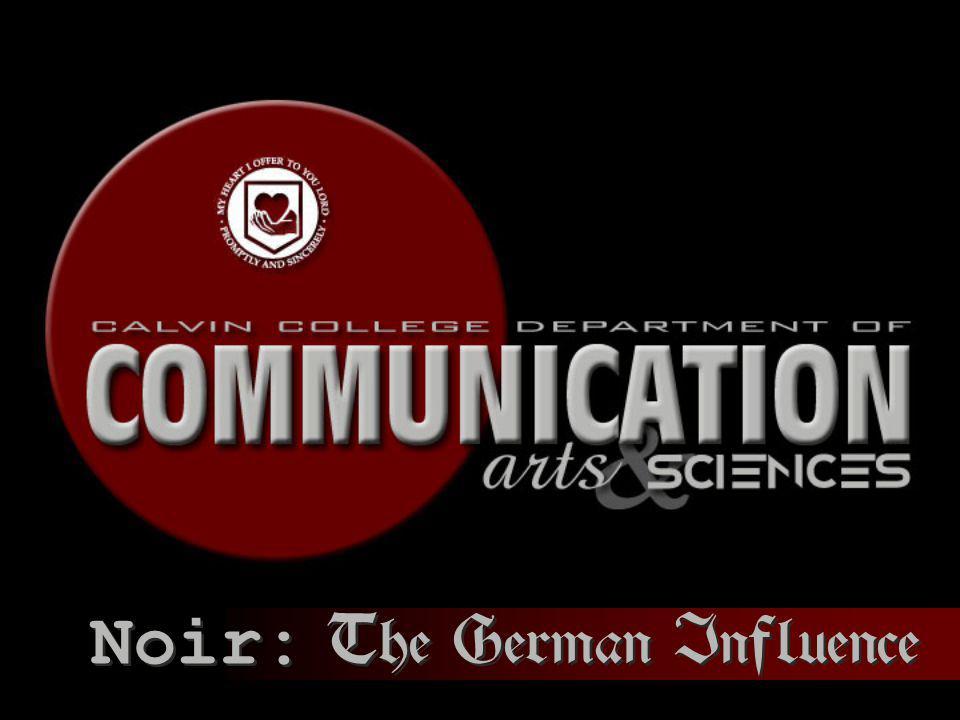 Noir: The German Influence